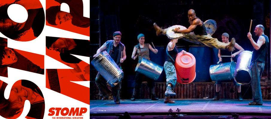 Stomp at Orpheum Theatre