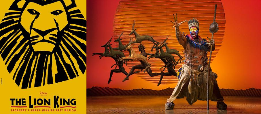 The Lion King at Orpheum Theatre