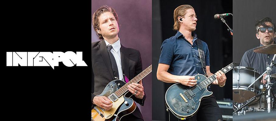Interpol at Holland Performing Arts Center - Kiewit Hall