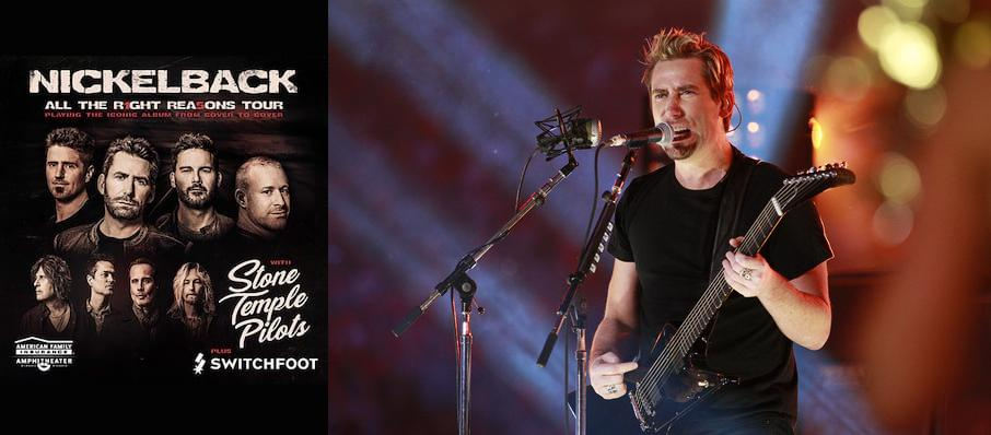 Nickelback at CHI Health Center Omaha