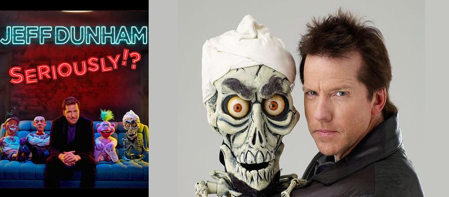 Jeff Dunham at CHI Health Center Omaha