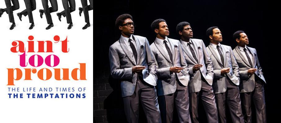 Ain't Too Proud - The Life and Times of the Temptations at Orpheum Theatre