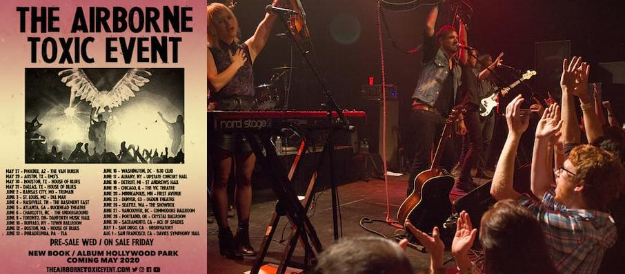 Airborne Toxic Event at Waiting Room Lounge
