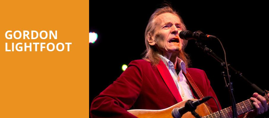 Gordon Lightfoot, Holland Performing Arts Center Kiewit Hall, Omaha