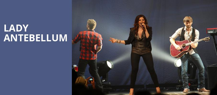 Lady Antebellum, CHI Health Center Omaha, Omaha