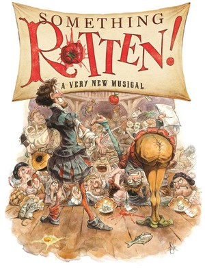 Something Rotten, Orpheum Theatre, Omaha